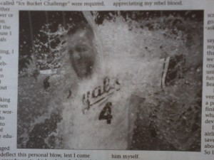 Alex Gordon Gatorade shower