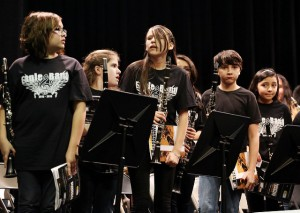 middle school band